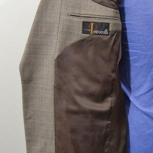 Petrocelli Suits & Blazers - Petrocelli 40R Sport Coat Blazer Suit Jacket Gray
